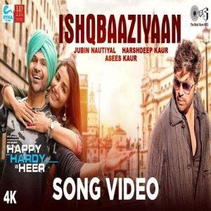 دانلود آهنگ هندی جوبین نوتیال به نام Ishqbaaziyaan + متن آهنگ