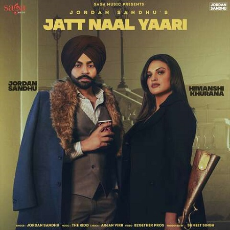 دانلود آهنگ هندی Jordan Sandhu به نام Jatt Naal Yaari + متن آهنگ