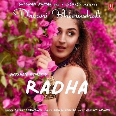 دانلود آهنگ هندی Dhvani Bhanushali به نام Radha + متن آهنگ