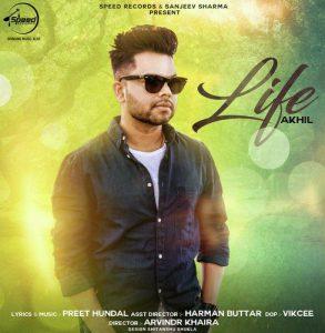 دانلود آهنگ هندی Akhil به نام Life + متن آهنگ