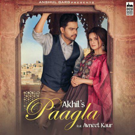 دانلود آهنگ هندی Akhil به نام Paagla + متن آهنگ