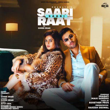 دانلود آهنگ هندی Shree Brar به نام Saari Saari Raat + متن آهنگ